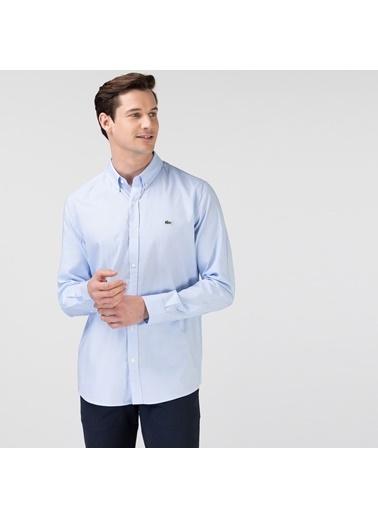 Lacoste Erkek Slim Fit Gömlek CH1843F.HBP Mavi